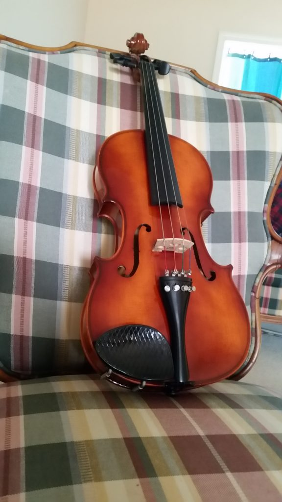 West German Viola Finished